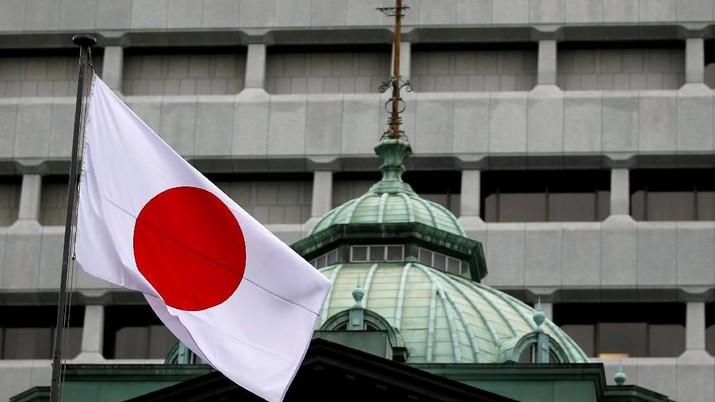 Bank sentral Jepang, Bank of Japan (BOJ), memangkas perkiraan inflasinya dan menahan bunga acuan ultra-longgar, Rabu (23/01/2019).