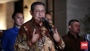 SBY Yakin 'Serangan' Agum Gumelar Bukan atas Perintah Jokowi