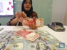 Rupiah Menguat, Dolar AS Lengser dari Rp 14.600