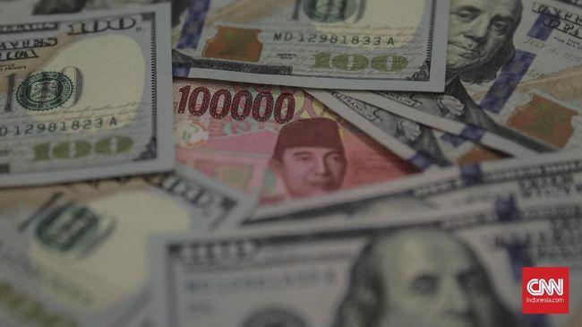 Awal Pekan, Rupiah Melemah Tipis Jadi Rp14.188 per Dolar AS