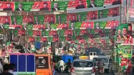 VIDEO: Persaingan Sengit di Pemilu Pakistan