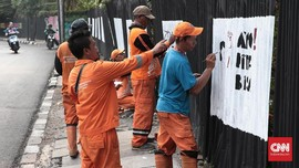 Mural Asian Games 2018 Jadi Sorotan Warga Jakarta