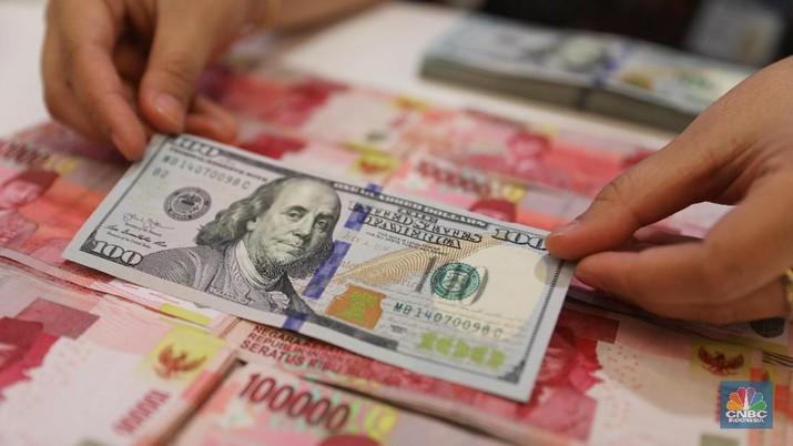 Pukul 11:00 WIB: Rupiah Melemah ke Rp 14.285/US$