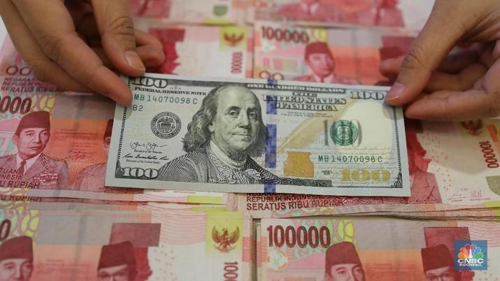 Pukul 12:00 WIB: Rupiah Masih Lesu di Rp 14.280/US$