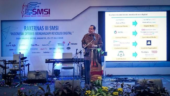 CT Jadi Pembicara Kunci di Indonesia Startup Summit