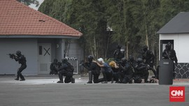 Densus Telah Tangkap 283 Terduga Teroris Pasca-Bom Surabaya
