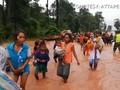 VIDEO: Bendungan Jebol di Laos, Ratusan Warga Hilang