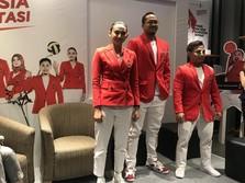 Kerennya Seragam Atlet Indonesia untuk Asian Games 2018