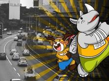 Ada Kirab Obor Asian Games, Ini Jalan di Jakarta yang Ditutup