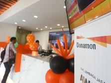 Berencana Merger, Harga Saham Bank Danamon Melesat 6,59%