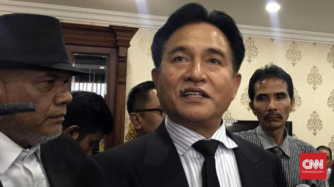 Yusril: Dukungan Majelis Syuro ke Prabowo Bukan Keputusan PBB