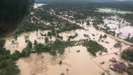 Banjir Bendungan Jebol Laos, Ribuan Warga Kamboja Dievakuasi