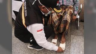 Cuaca Panas,Kemenkes Imbau Jemaah Haji Tak Pakai Sandal Jepit