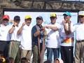 Gendang Beleq Sambut Api Asian Games di Lombok