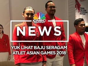 Yuk Lihat Baju Seragam Atlet Asian Games 2018