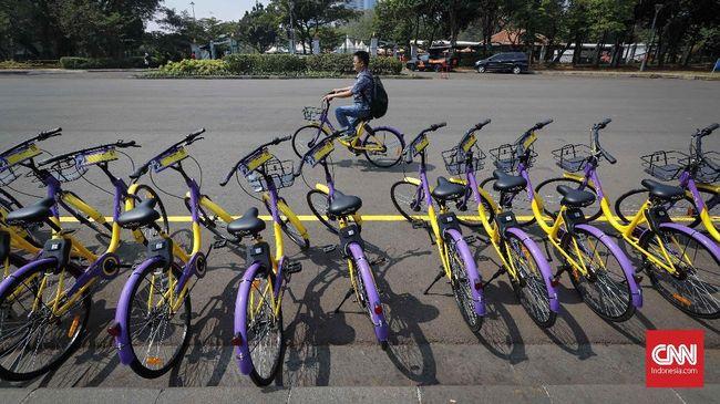 Unduh Aplikasi, Syarat Nikmati Sepeda Gratis di Monas