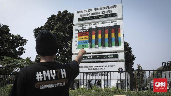 Udara Jakarta Disebut Buruk, DKI Klaim Beda Standar Ukuran