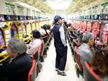 Hanya Diminati Manula, Bisnis Pachinko Meredup di Jepang