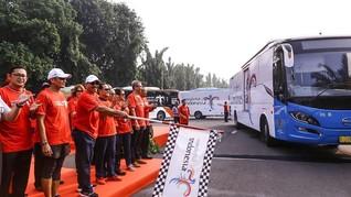 100 Bus Wonderful Indonesia Akan Wira-wiri saat Asian Games