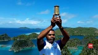 VIDEO: Api Obor Asian Games 2018 Menyala di Raja Ampat