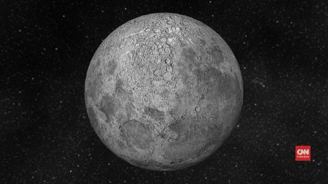 NASA Temukan Es di Permukaan Bulan