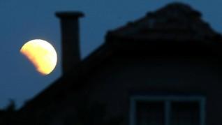 Daftar Negara yang Bisa Amati Gerhana Bulan Sebagian
