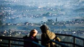 Suhu Terdingin Bandung Sentuh 16,4 Derajat Celsius