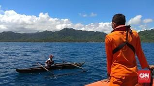 Perahu Nelayan Tenggelam di Ternate, Satu Korban Hilang