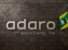 Volume Penjualan ADRO Flat di 9 Bulan 2018