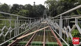 PUPR Rogoh Kocek Rp710 Miliar Bangun 148 Jembatan Gantung