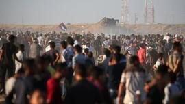Demonstran Palestina dan Pasukan Israel Bentrok, 50 Luka
