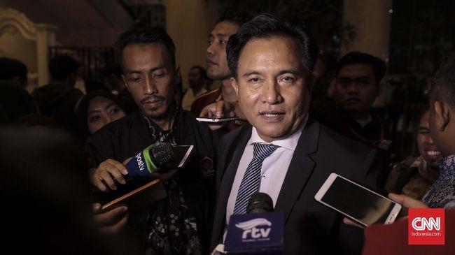 Yusril Nilai 'Kemenangan' Jokowi di Pilpres Tak Terbentur UUD