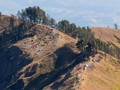 Gempa Lombok Timur Picu Longsor di Kaki Gunung Rinjani