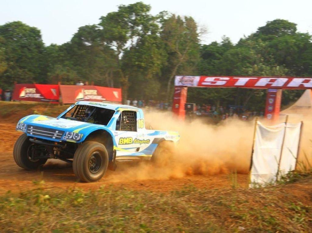 Tahun ini kejurnas Speed Offroad dilaksanakan 4 seri, yang kesemuanya itu akan berlangsung di Serang, Banten. Foto: dok. BJB BMB Motorsport