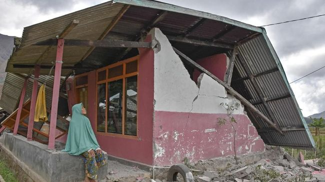Sebanyak 276 Gempa Susulan Skala Ringan Guncang Lombok