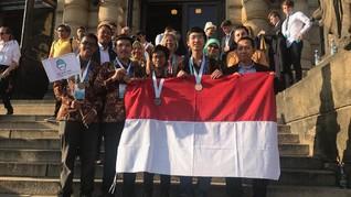 Indonesia Raup Medali di Olimpiade Kimia Internasional