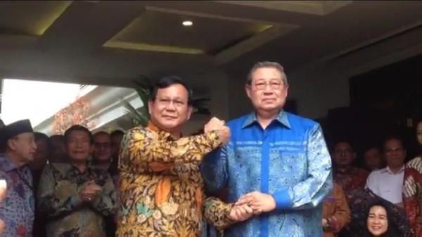 SBY Dukung Prabowo