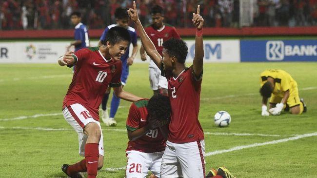 Timnas Indonesia Menang 3-0 atas Timor Leste di Piala AFF