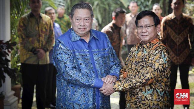 Sindiran SBY dan Ujian Prabowo Rekatkan Koalisi