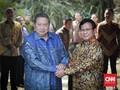 Prabowo Sambut SBY, Langsung Lakukan Pertemuan Tertutup