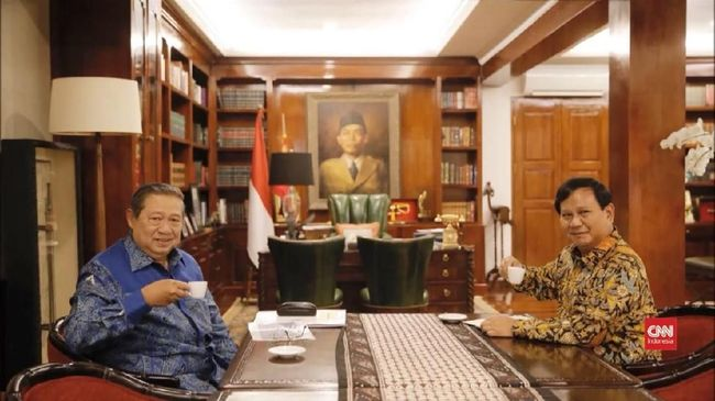 Pertemuan SBY-Prabowo Akan Digelar Rutin Tiap Bulan