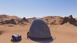 Curiosity Berhasil Ambil Sampel & Selfie Panorama di Mars