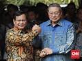 Prabowo Temui SBY Kerucutkan Kerjasama Pilpres 2019