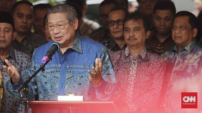 SBY Respons Agum: Saya Malu kalau Bertengkar di Depan Publik