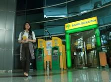 OJK Sebut Perbankan Aman, Saham Bukopin Terbang 7%