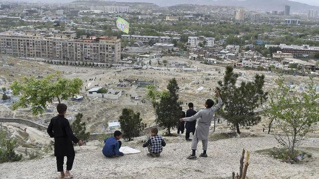 Taliban Serbu Ibu Kota Afghanistan Kabul