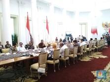 Ini Pidato Lengkap Jokowi di Rapat Penyelamatan Rupiah