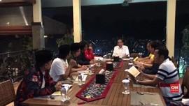 VIDEO: Jokowi Bahas Timses dengan Sekjen Parpol Koalisi