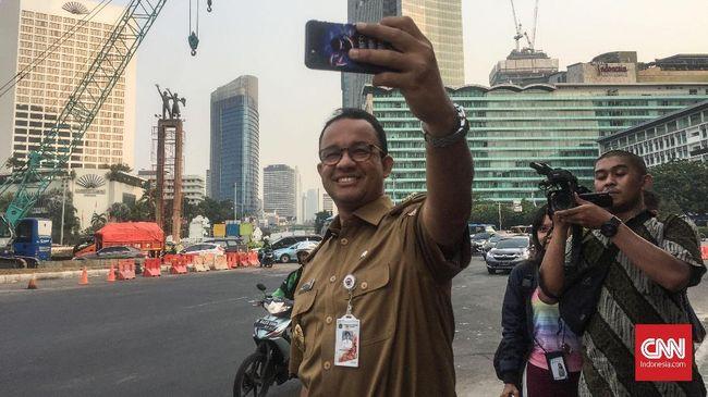 Anies: Jangan Bayangkan Becak Kembali ke Jalan Thamrin
