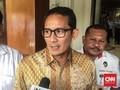 Pergantian Sandi di Posisi Wagub DKI Tunggu Keppres Jokowi